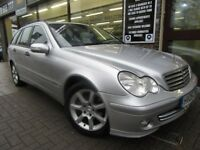 MERCEDES-BENZ C CLASS 2.1 C200 CDI Classic SE 5dr Auto (silver) 2005