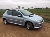 **2007 - 66K MILES ONLY 206 WITH 1 YEAR MOT AND SERVICE HISTORY**