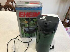 Ehiem 2213 Aquarium External Filter. For 80L to 250L Aquariums. Used.