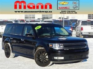 2017 Ford Flex SEL | Navigation, Leather, AWD, Remote start.
