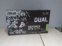BRAND NEW UNOPENED - Asus NVIDIA GeForce GTX 1070 8GB - Factory OverClocked (RRP 398.99)