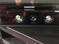 Samsung blu ray DVD player and surround sound home theatre