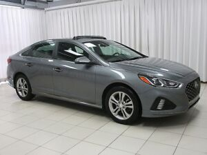 2018 Hyundai Sonata SPORT SEDAN W/ PADDLE SHIFTERS, BACK-UP CAM,