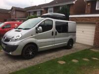 Vauxhall vivaro sportive 2014 converted camper van