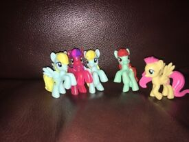 My little pony collectable figures