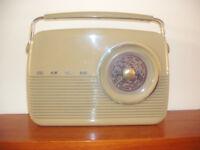 Vintage Bush Radio.