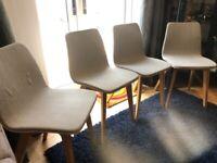 Modern Oak Dining Chairs