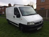 2005 FIAT DUCATO VAN 2.0 HDI 12 MONTHS MOT NEW CAMBELT AND FULL SERVICE BOXER RELAY