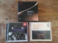 Collection of Beethoven CD's