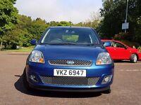 Ford Fiesta Zetec Elecric blue 2008 ##VERY LOW MILES ##
