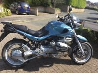Bmw r1150r in Atlanta blue,lovely condition with only 26,000 miles.
