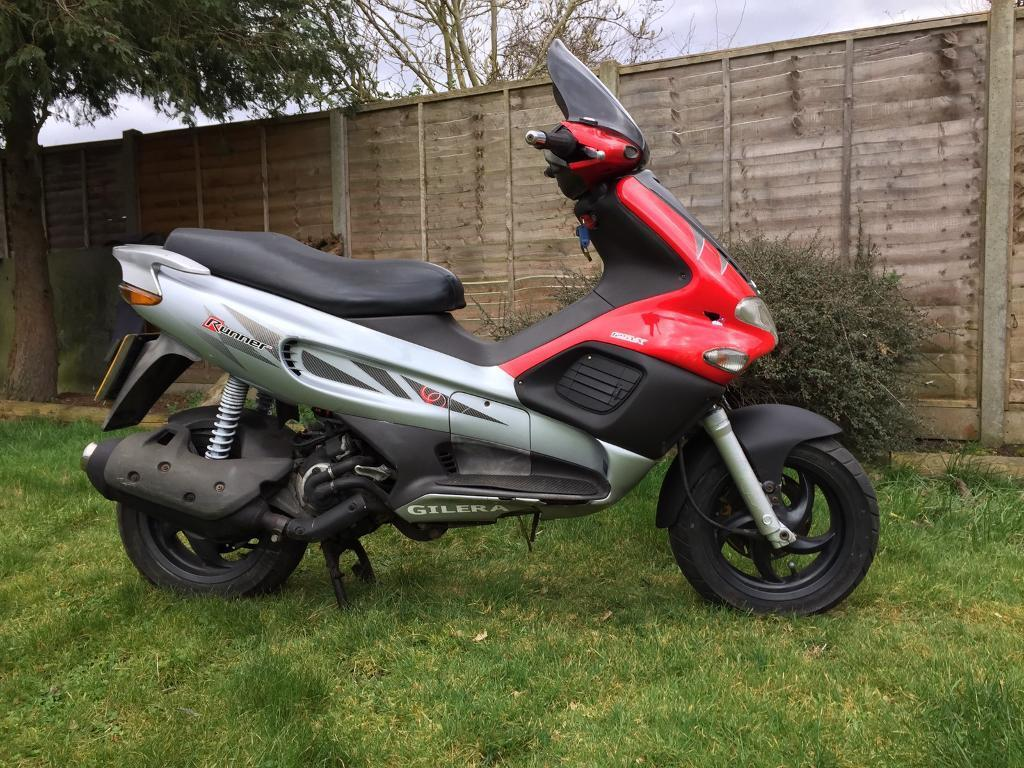 Gilera runner vx 125 2004 scooter great condition