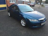 2005 Mazda 6 ts2 12 months mot/3 months parts and labour warranty
