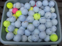Brand new/nearly new golf balls from £1