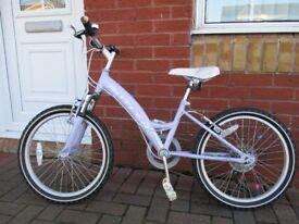 Girls Claude Butler Vixen bike