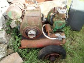 spares or repairs old compressure villers engine bristol compressure