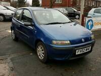 FIAT PUNTO ACTIVE 2002 PART EX TO CLEAR £295ono