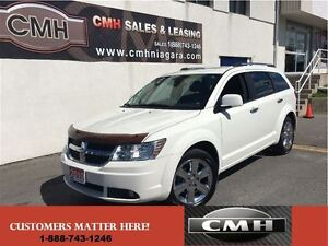 2010 Dodge Journey R/T AWD 7 PASS. LEATH ROOF NAVI *CERTIFIED*