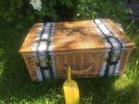 Anya Hindmarch picnic hamper - new