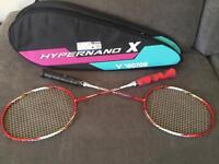 Victor Hypernano X80 badminton rackets