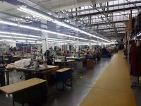 QUALITY CONTROLLER REQUIRED FOR CLOTHING FACTORY