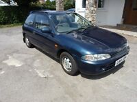 1993 L Reg Mitsubishi Colt. MOT July, Great condition. PX to Clear just £250.