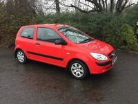 2009 HYUNDAI GETZ 1.0 # FULL MOT # GENUINE 62.000 MILES # LOWEST INSURANCE GROUP # VERY ECONOMICAL