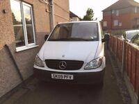 LHD 2009 Mercedes Vito 2.0L Diesel Long wheelbase, 2 slidings doors