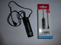 RS-60E3 Remote Switch Shutter Release Cord Control for Canon Camera EOS