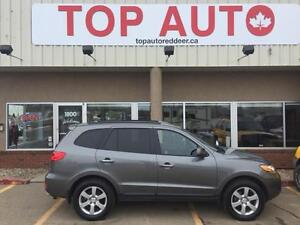 2009 Hyundai Santa Fe Limited Good tires, leather loaded