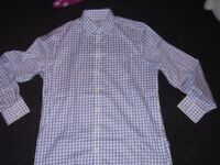 Charles Tyrwhitt Shirt Size Large Non Iron Extra Slim Fit New