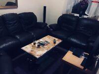 leather corner sofa 3+2+1