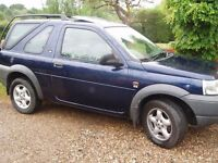 Land Rover Freelander Diesel Auto MOT to NOV 18 1 disabled owner fully stamped service history.