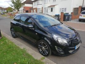 2013 vauxhall corsa black limited edition petrol service history 1 year mot