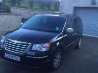 2008 Chrysler Grand Voyager 2.8CRD Limited -7 Seats-Automatic.