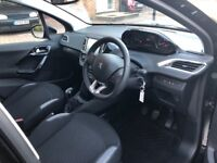 Peugeot 208 pure tech active with rear camera and sensors