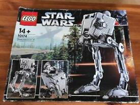 Lego 10174 AT-ST, Ultimate Collection Series USC, Complete, Boxed, collectible