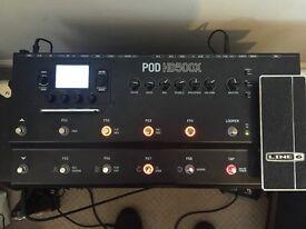 Line 6 Pod HD500X Guitar Multi Effects Board