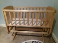 Motheracer swing crib n 2 matress