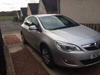 Vauxhall astra 1.4 exclusive. Low miles