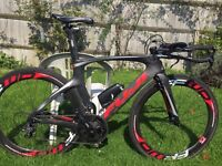Time Trial / TT Bike: Fuji Norcom Straight 2.1 - Medium