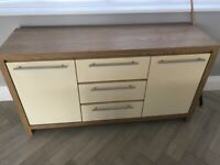 Tv cabinet, side board and 2 side tables