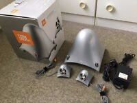 JBL Creature Speakers + Sub Woofer - Silver - Use for PC/Stereo