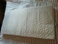 Free - cot mattress