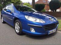2006 Peugeot 407 SW HDi Estate 1.6, DIESEL, 9 Months MOT (NO Advisories) , Recent Cambelt Change