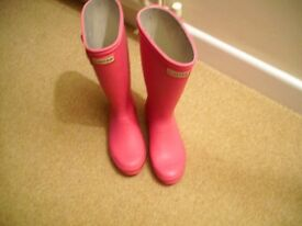 Hunter Wellington Boots, Size 3 - Kids or Adults