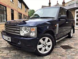 Land Rover Range Rover 4.4 V8 Vogue **6 MONTHS WARRANTY** 2004 (53 reg), SUV