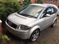 Audi A2 1.4 Diesel 2003 -Road Tax 30£-Low Insurance-Cheap to Run