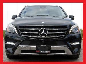 2014 Mercedes-Benz M-Class ML350 BLUETEC+AMG PKG+LED HEADLIGHT+L