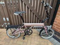 Mezzo folding bike